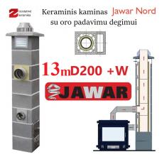 JAWAR NORD 13M Ø200 + W