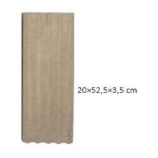 ŠAMOTINĖ PLOKŠTĖ 20x52,5x3,5 cm