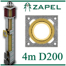 ZAPEL ECO S 4m Ø200