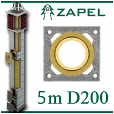 ZAPEL ECO S 5m Ø200
