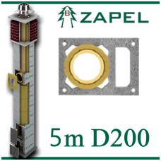 ZAPEL ECO S 5m Ø200 + W