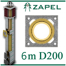 ZAPEL ECO S 6m Ø200