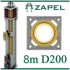 ZAPEL ECO S 8m Ø200
