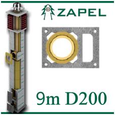 ZAPEL ECO S 9m Ø200 + W